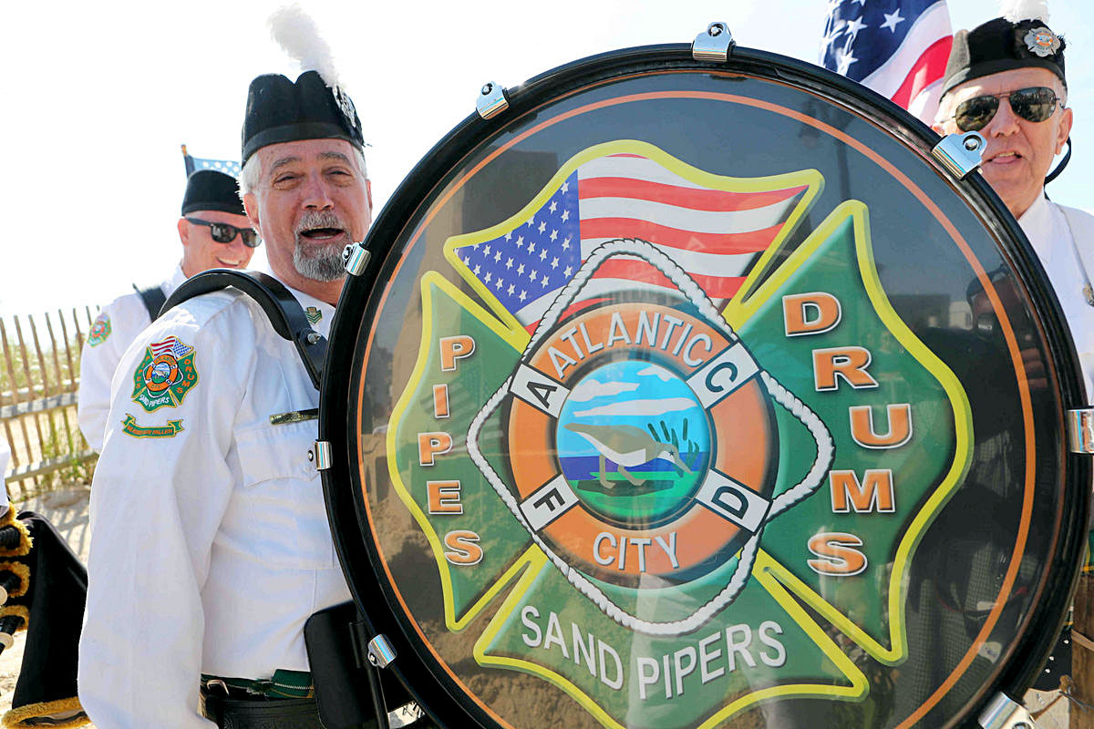 Atlantic City Fire Department Sandpipers and Drums