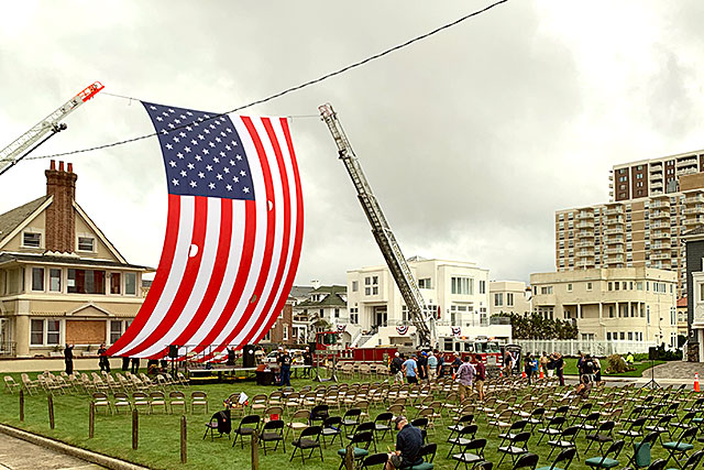 Atlantic City 911 Memorial Ceremony 2020